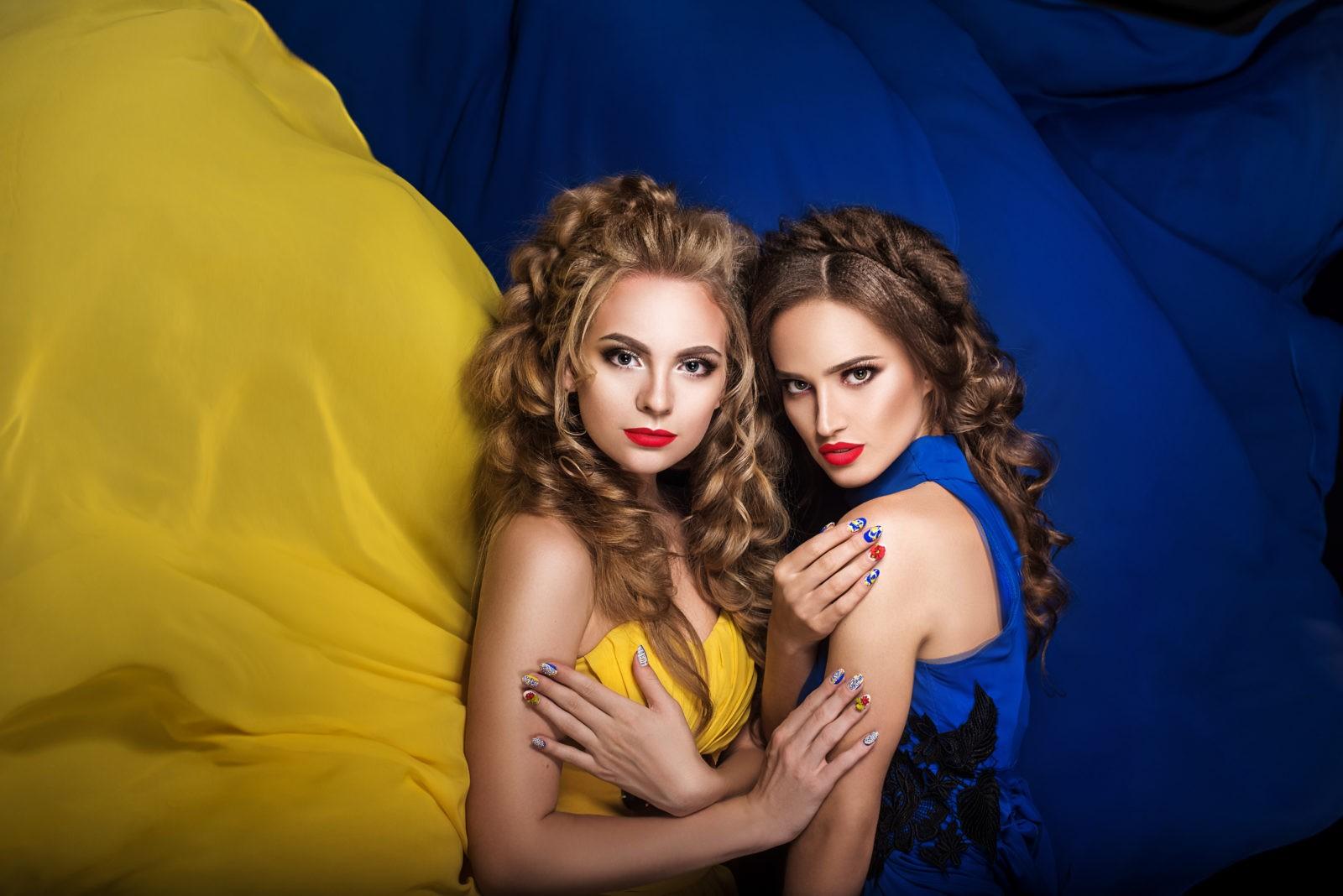 2 ukrainiennes typiques