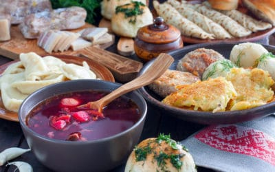 Le meilleur de la cuisine Ukrainienne